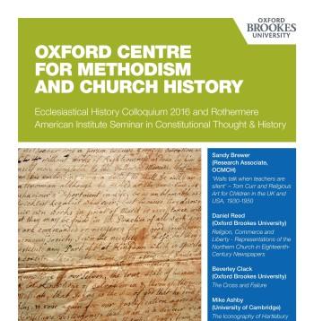 Ecclesiastical History Colloquium 2016