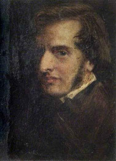 Smetham, James, 1821-1889; Self Portrait